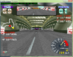 Ridge Racer in ePSXe using the D2D plugin